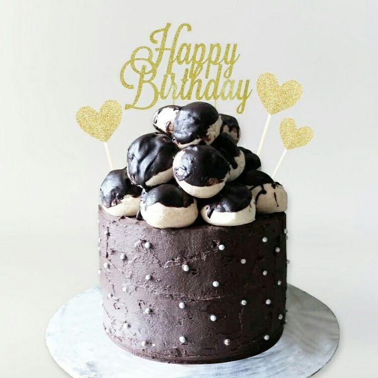 Loaded choux cake  Instagram : @qmjft