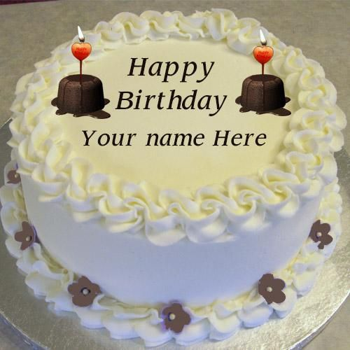 Write Name On Birthday Cakes Pics Online Cake