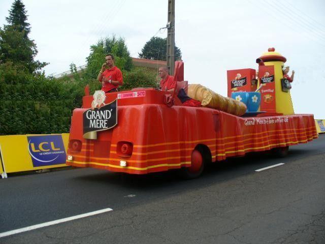 Grand Mere Tour de France Promotional vehicle