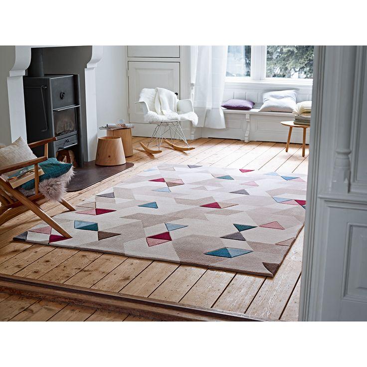 Ce tapis transforme en un tour de main chaque intérieur en un douillet chez-soi.