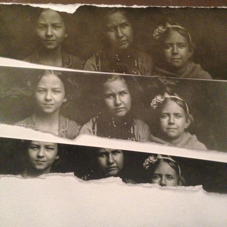 """Test print stripes from #kolodium #collodion  plate on #Foma #baryta paper. In my #darkroom  Testovací #Foma barytové proužky z kolodiové fotografie před finálním """"printem"""" v temné komoře."""