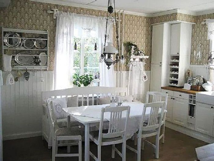Cottage Home Decor Ideas Part - 33: Decorating At Your House Cottage Country Kitchen Decorating Ideas