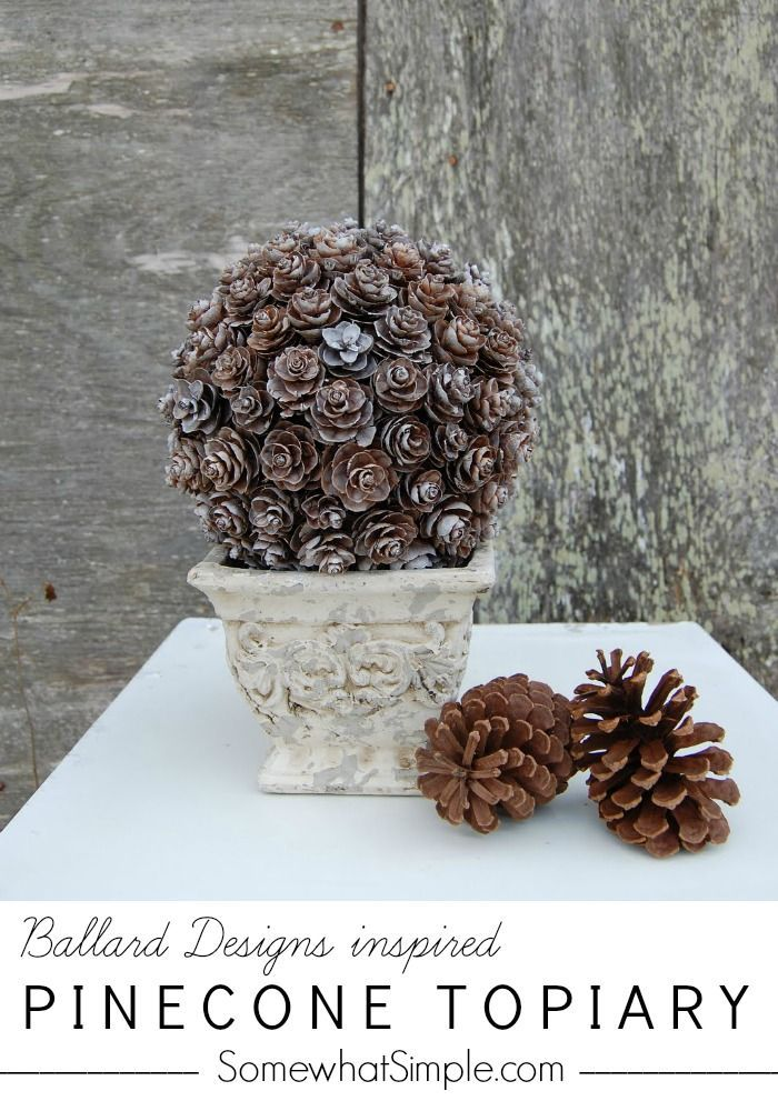 45 best images about pine cone crafts on pinterest. Black Bedroom Furniture Sets. Home Design Ideas