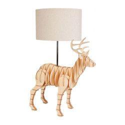 Micky & Stevie Deer Table Lamp