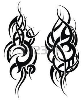 tatouage épaule: Maori motif de tatouage de style pour une épaule