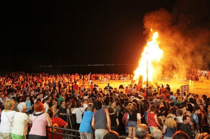 AGENDA de noche de San Juan en el #MarMenor: todas las horas, conciertos y espectáculos
