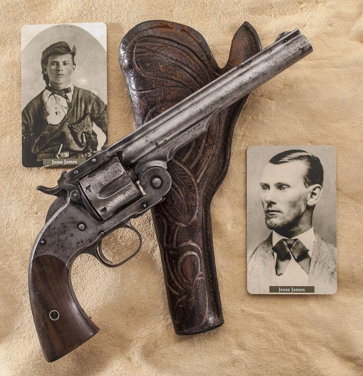 Jesse James' .45 Schofield revolver.