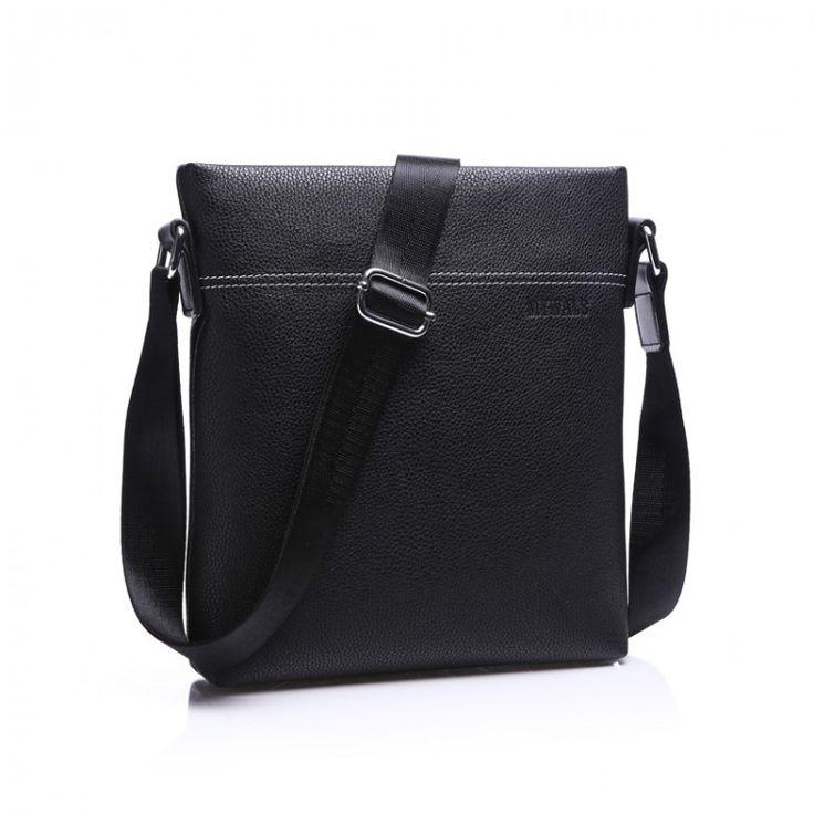 2016 Famous Brand Leather Men Shoulder Bag Casual Business Satchel Mens Messenger Bag Vintage Men's Crossbody Bag bolsas maleLeather Bags