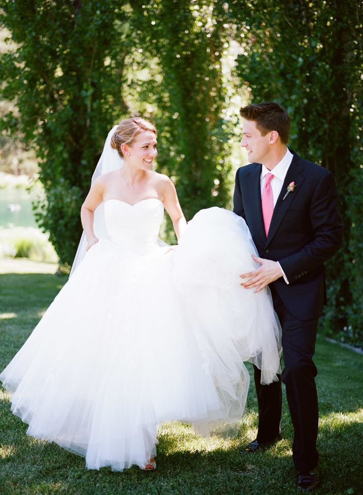 Shannon Leahy Events  - Coral Wedding - Napa Valley - Black Swan Lake - First Look