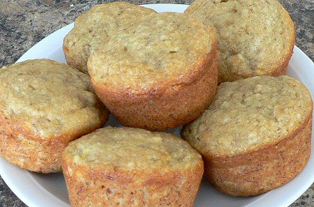 Healthy Banana Muffins...75 calories and 2 WW points plus per muffin