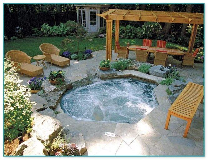 Average Cost Of Inground Hot Tub Hot Tub Backyard Inground Hot Tub Hot Tub Outdoor