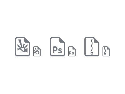 Filetype Icons | Wil Nichols on Dribbble