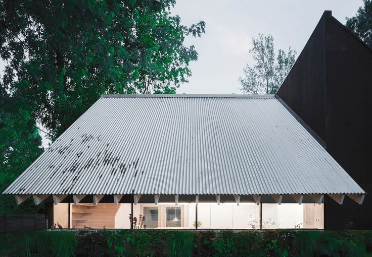 He, She & It is a collection of three distinct buildings for three spatial needs, collaged into one structure. The 1400 sq ft building houses a work space...