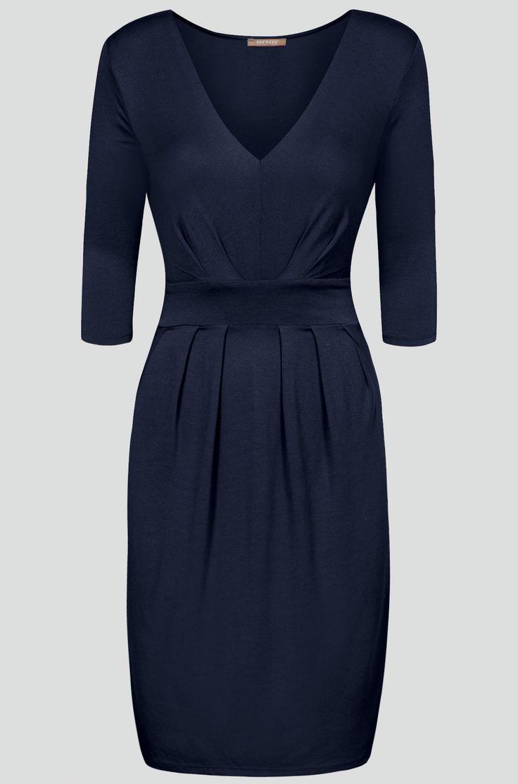 Stylové šaty z žerzeje