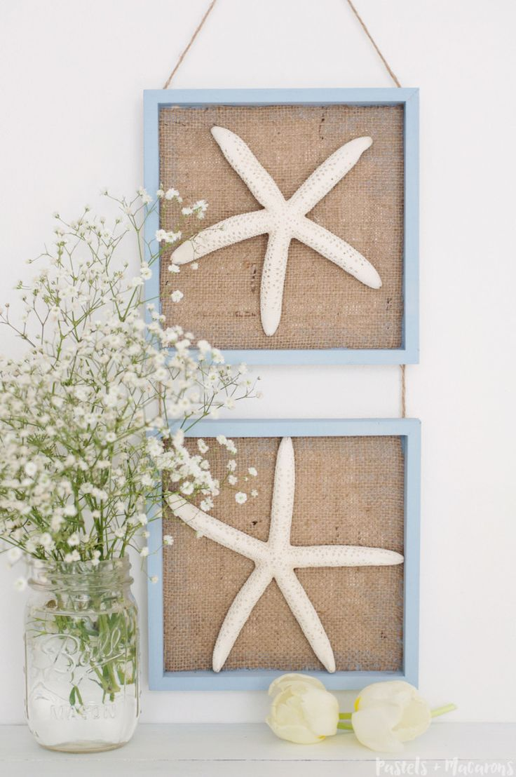 Starfish decorations for bathroom - Gorgeous Diy Starfish Wall Art Decor For The Coastal Inspired Home