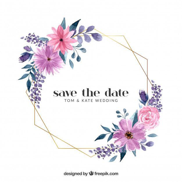 Download Floral Wedding Frame Template For Free Wedding Frames Frame Template Flower Frame