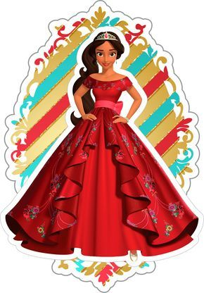 Tag 3D Princesa Elena de Avalor
