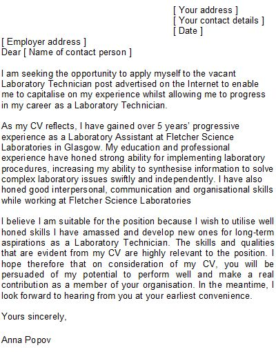 cover letter biology research assistant - Google Search