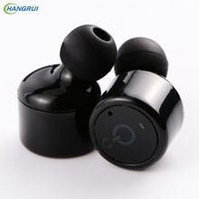 HANGRUI X1T X2T Verdadera Voz de Manos Libres auricular inalámbrico de auriculares bluetooth Auriculares Inalámbricos Para el iphone 7 Teléfono Inteligente xiaomi