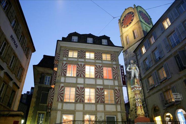 Café L'Aubier, Neuchâtel, Switzerland