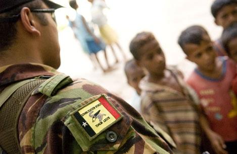 In Timor Leste