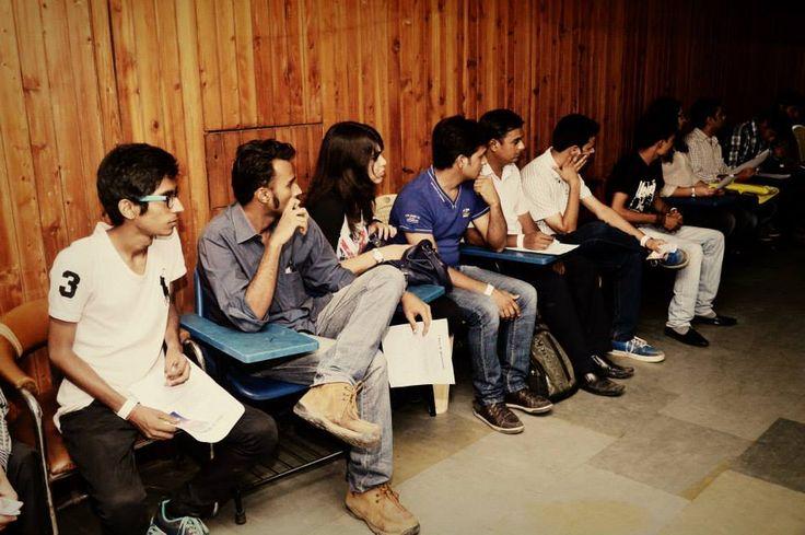 Auditions at Shri Ram Centre, New Delhi