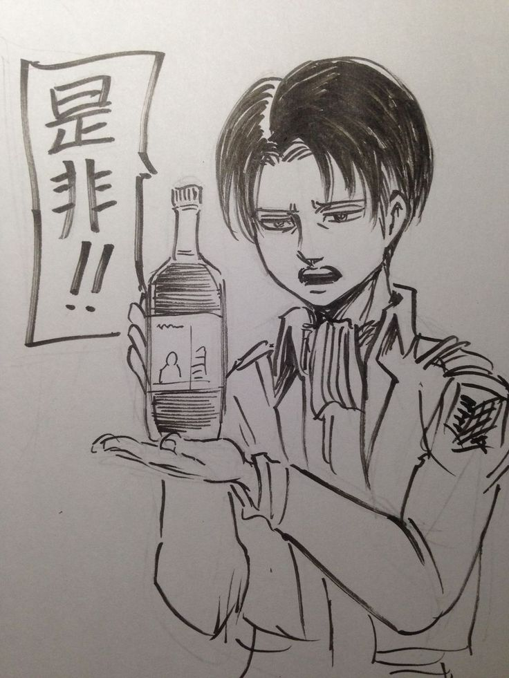 wine and captain levi Time went slower as each sip of wine made you drowsy, your eye-lids lowered  slightly lately your  i dont own attack on titan i own the story.