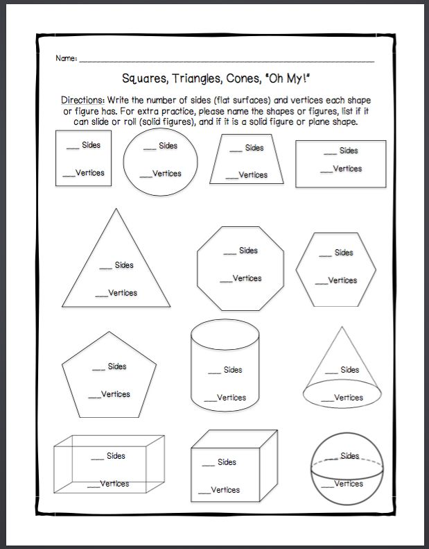 plane shapes and solid figures math 4th grade math worksheets plane shapes geometry worksheets. Black Bedroom Furniture Sets. Home Design Ideas