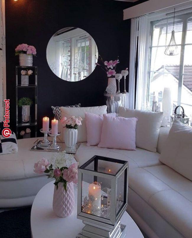 Feminine Elegance Living Rooms In 2019 Pinterest Living Room Decor Room Decor And Living Room Designs Decoracao De Casa Decoracao De Luxo Decoracao Sala Simples