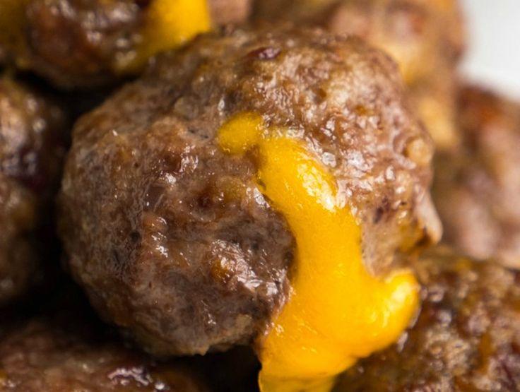 Vous aimez les boulettes de viande? Essayez ces délicieuses boulettes de viande au cheeseburger et bacon!