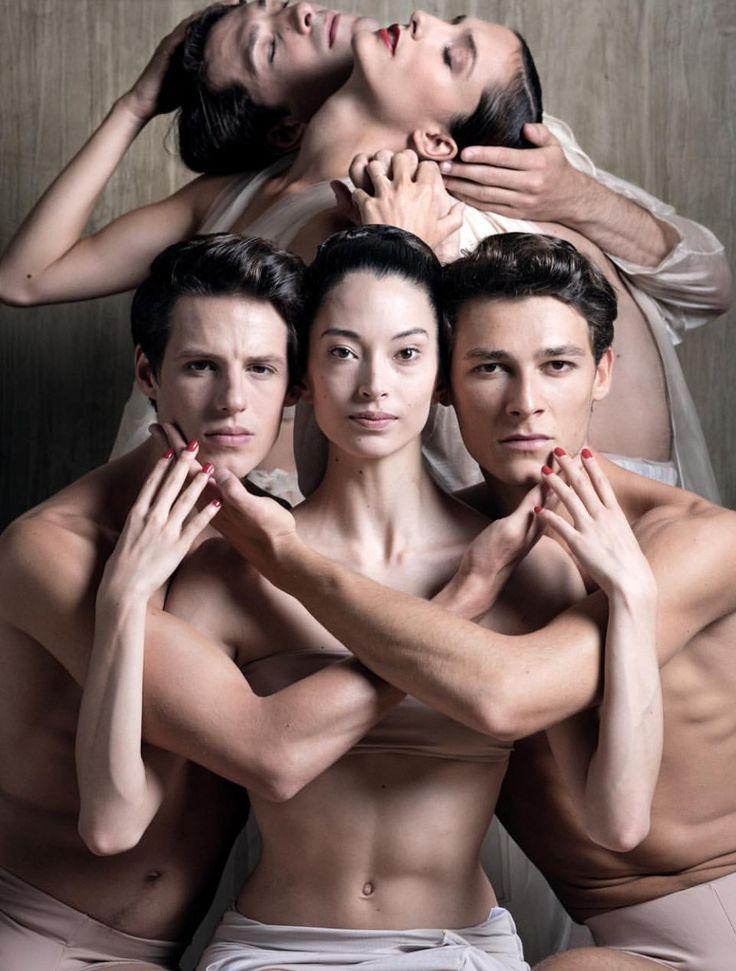Dorothee Gilbert, Mathieu Ganio, Germain Louvet, Hannah O'Neill and Hugo Marchand of the Paris Opera Ballet