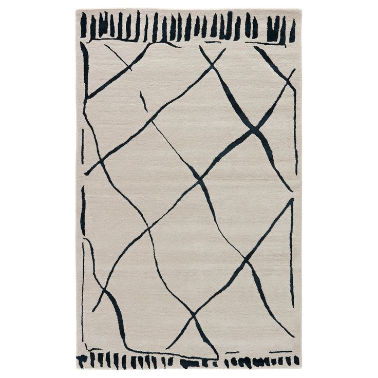 Lovely Every Room Should Give Guests A Little Wink. We Love The Painterly Trompe  Lu0026 Lines Of This Two Tone Rug. Vacuum Regularly, Professionally Clean Only. Good Ideas