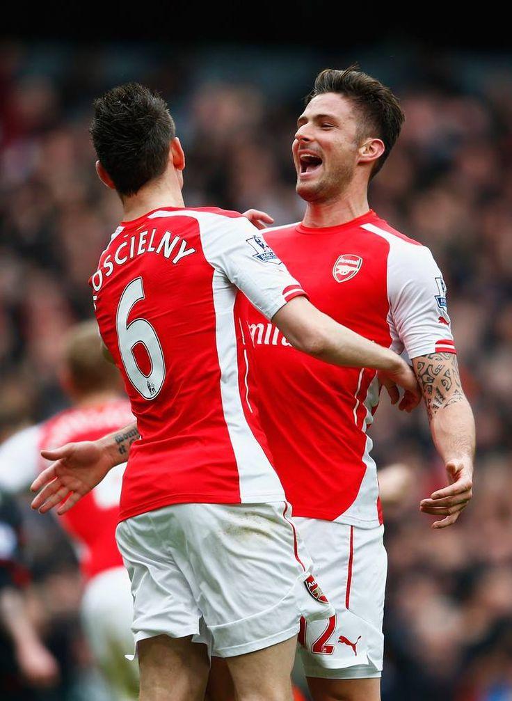 Koscielny & Giroud - Arsenal