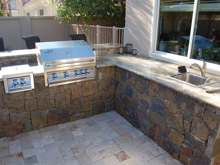 Back yard built in bbq outdoor barbeque grills for Backyard built in bbq ideas