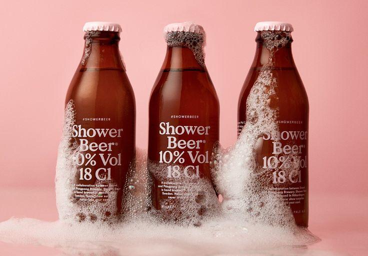 En Suède, la marque de bière PangPang a conçu une nouvelle bière spécialement imaginée pour être bue sous la douche.