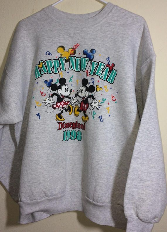297a0131f Disney Collectible 1998 Vintage Sweatshirt California Tourist ...