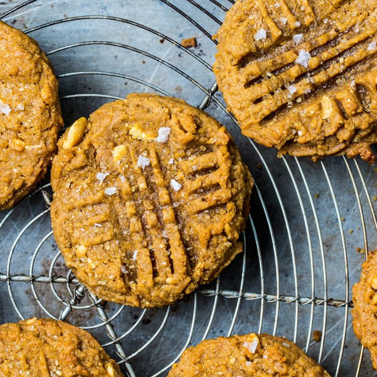 What makes this peanut butter cookie recipe The Best? Well, there's a few reasons actually. We call for natural peanut butter so that you can dial the sugar and salt amounts exactly. Instead of just adding roasted peanuts from the can, we roast them a second time for even more peanutty flavor. And the pan of water in the oven creates a burst of steam that gives the finished cookies the perfect crunchy-chewy texture. Now you know! This is part of BA's Best, a collection of our essential…