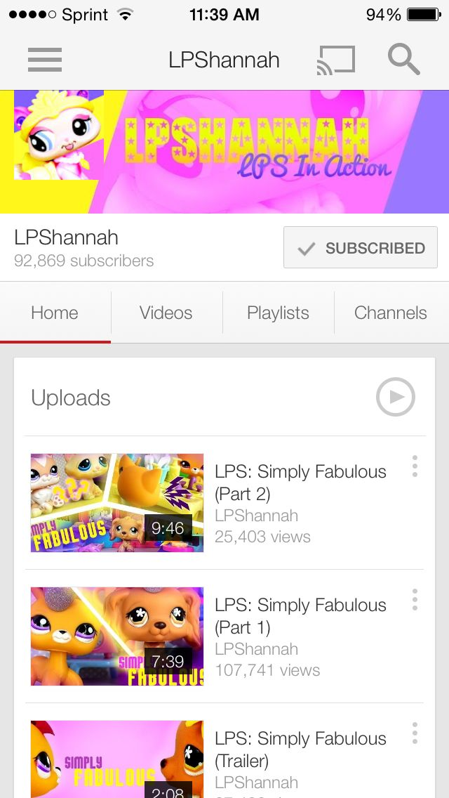 Subscribe to me please...on YouTube. | lps | Pinterest ...