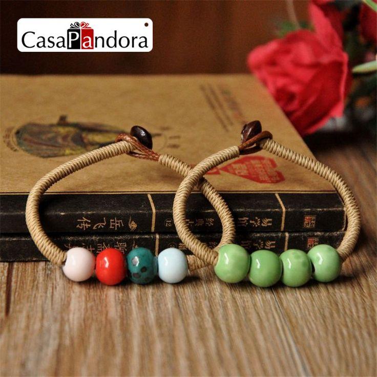 CasaPandora Jewelry Ceramic Mix Colour Women's Bracelets  Handmade Accessories Honey Lovers Gift  Hot Sale New Design  #Affiliate