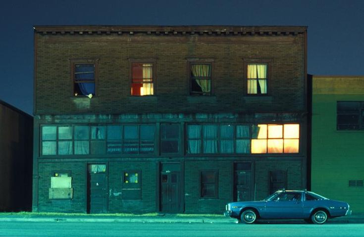 In The Near Distance series. Greg Girard. (Lighting, Photography)