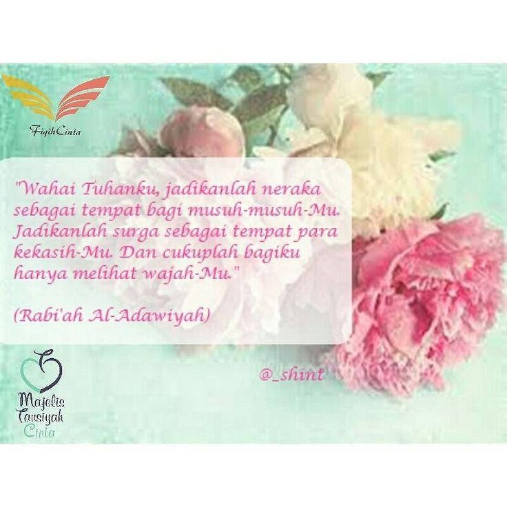 Siapa yang tak mengenal Rabi'ah Al-Adawiyah? Beliau adalah sufi wanita pertama yang mengenalkan ajaran pendekatan diri kepada Allah dalan konsep totalitas cinta (mahabbah). Ketulusan Rabi'ah mencintai Allah menjadi prioritas utama dalam hidupnya. Beliau menyerahkan seluruh jiwa dan raganya hanya untuk menyembah-Nya. Kecintaannya pada Allah tak tergantikan oleh apapun bahkan beliau menolak lamaran dari banyak lelaki termasuk seorang raja dari kota Bashrah yang bernama Muhammad bin Sulaiman…
