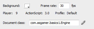 #flash #as3 basics: 9 part series on creating a Flash Game for beginners
