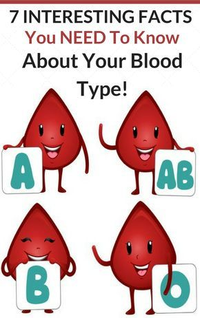 7 Interesting Facts You NEED to Know About Your Blood Type!
