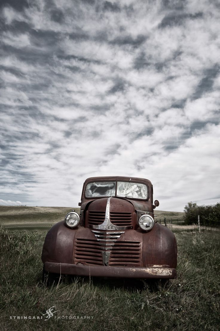 Old Dodge Truck - null
