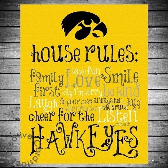 Iowa Hawkeyes Herky   Uploaded to Pinterest