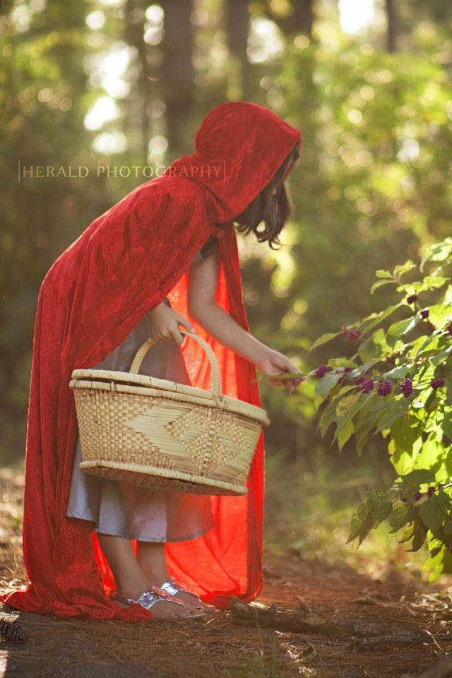Red Riding Hood: Themed Photo Shoot: Fairy Tale: Herald Photography: Great Falls, MT Photographer