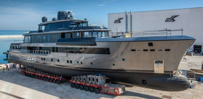All-new 55m Superyacht CRN 134 to be launched in less than a month — Luxury Yacht Charter & Superyacht News