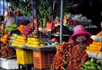 Marked i Phnom Penh