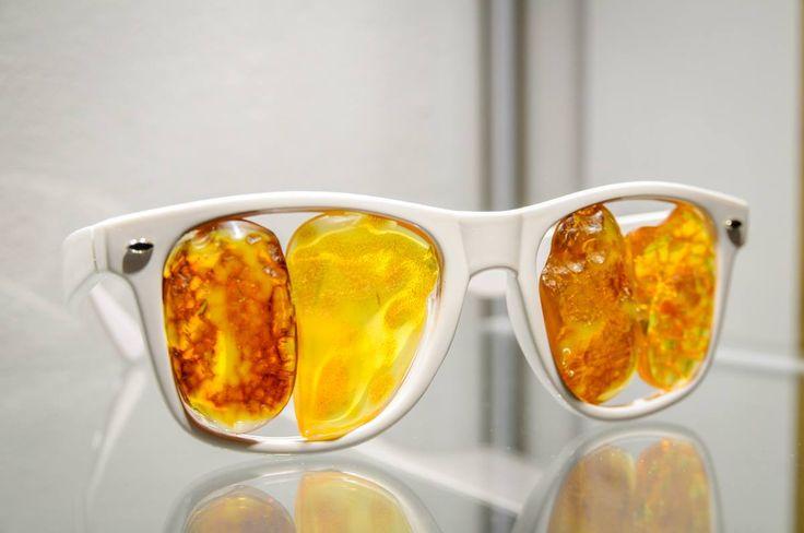 #Amber #Sunglasses! Author: Daniel Michel (Germany) | photo: Maciej Nicgorski / #glasses #okulary #bursztyn