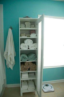 Ikea Bath Storage. Idea for small bath with no storage??